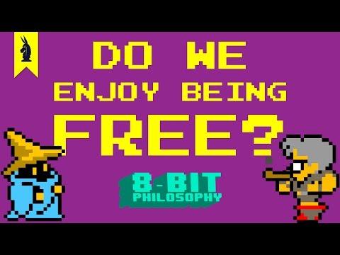 Do We Enjoy Being Free? (Sartre) – 8-Bit Philosophy