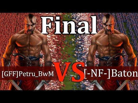 Cossacks 3 Tournament - [GFF]Petru_BwM vs [-NF-]Baton | FINAL - Expert vs Expert (видео)