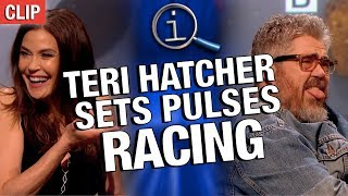 Video QI | Teri Hatcher Sets Pulses Racing MP3, 3GP, MP4, WEBM, AVI, FLV Mei 2019