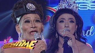 Video It's Showtime Miss Q & A: Maria Katrina Lopez and Angelika Mapanganib on Beklamation! MP3, 3GP, MP4, WEBM, AVI, FLV Juni 2018