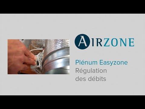 Plénum Easyzone - Comment réguler les débits ?