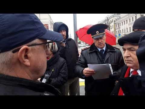 Возложение цветов памятнику Ленина 22 апреля г.Казань.