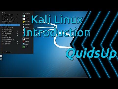 Kali Linux Introduction