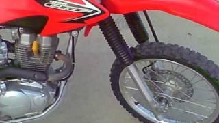 7. 2008 honda crf 150f
