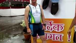 Foreigner Runs In Thane Mahapaur Varsha Marathon 26 August 2012