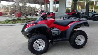 10. 2017 Honda Rincon 680 4X4 ATV Walk-Around Video | TRX680FA Review @ HondaProKevin.com