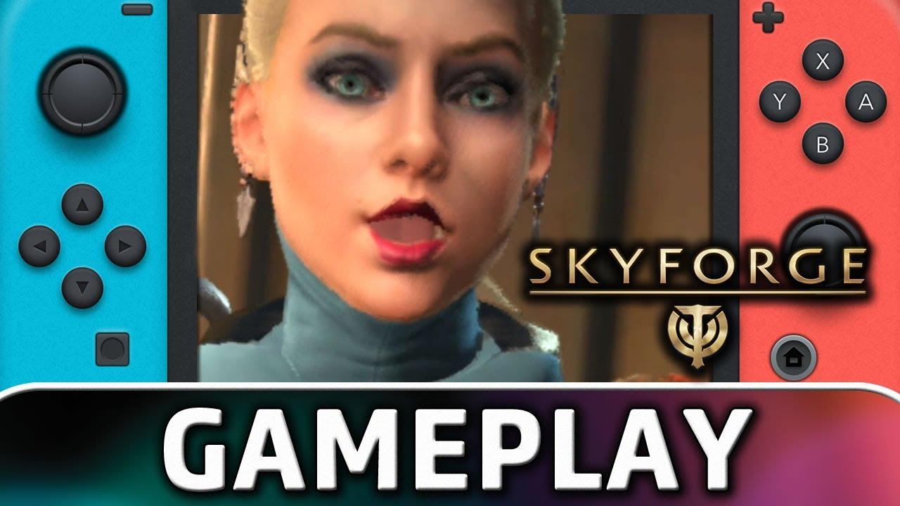 Skyforge | Nintendo Switch Gamplay