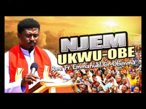 Rev. Fr. Emmanuel C. Obimma(EBUBE MUONSO) - Njem Ukwu Obe - Nigerian Gospel Comedy