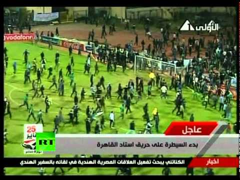 Egypt riots - A riot in the Egyptian city of Port Said has left 74 dead and at least 248 wounded after football fans stormed the pitch before engaging in running battles. ...