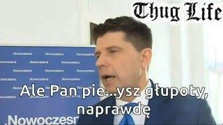 Ale Pan pi*rdoli głupoty, naprawdę! Rysiek Petru zaorany podczas dawania wywiadu dla TVN
