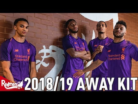Liverpool's 2018/19 Away Kit CLOSE UP HD UNBOXING!