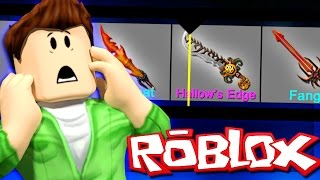 GODLY KNIFE CRATE UNBOXING! (Roblox Murder Mystery 2)