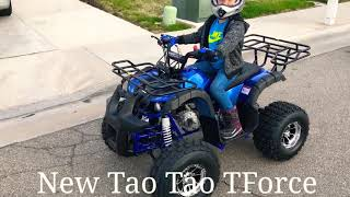 7. New Tao Tao TForce 2018 Review