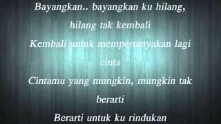Harus Terpisah - Cakra Khan (Lirik) Video