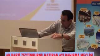 AK Parti Zeytinburnu Haziran Ayı Danışma Meclisi 1