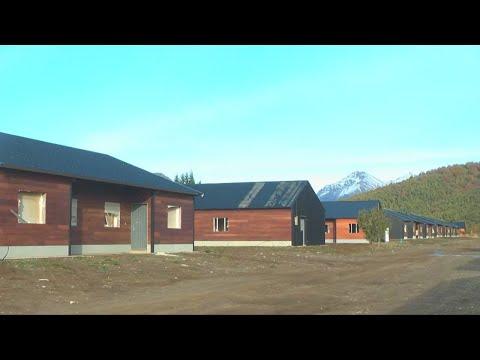 En Bariloche se finalizan viviendas únicas en su identidad constructiva