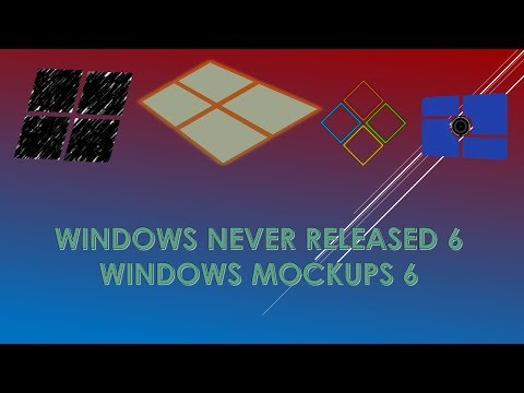 Windows Never Released Versions / Windows Mockups 6 (with future editions 2042-2916)