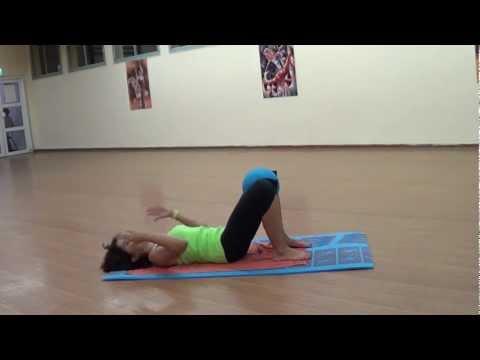 Упражнения  при  боли  в  копчике