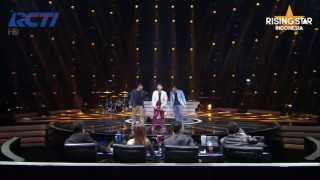 "Video Bertiga feat Judika ""Swear It Again"" Westlife - Rising Star Indonesia Eps 6 MP3, 3GP, MP4, WEBM, AVI, FLV Juni 2018"