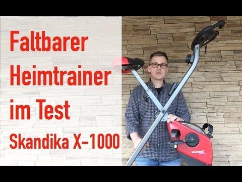 ERGOMETER & HEIMTRAINER TEST Skandika X-1000 Bedienung