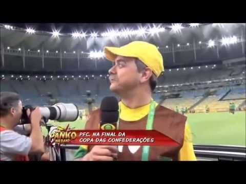 Pânico na Band 30/06/13 - Brasil campeão x Espanha no Pânico Futebol Clube