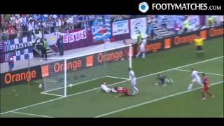 Greece Vs. Czech Republic (1-2) Euro 2012 Highlights! (12-4-12)