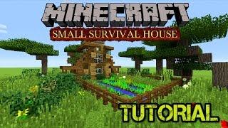 •️ MINECRAFT TUTORIAL: HOW TO BUILD A SURVIVAL HOUSE (FARM/HOUSE) (PS3/PS4/XBOX/MCPE/WiiU)
