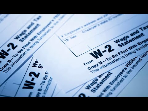 What is a W-2?
