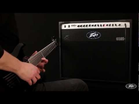 Peavey - Tom Allen from Peavey Europe demos the 6505+ 112 60 watt, two channel combo amp.