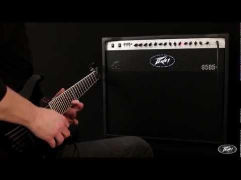 Peavey - Tom Allen from Peavey Europe demos the 6505+ 112 60 watt, two channel combo amp.