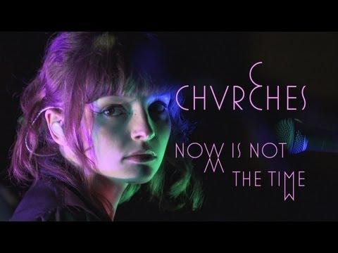 Tekst piosenki Chvrches - Now Is The Time po polsku