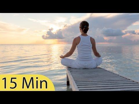 15 Minute Super Deep Meditation Music: Relax Mind Body, Inner Peace, Relaxing Music, ☯2563B (видео)