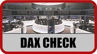 DAX30 Perf Index - DAX-Check: Dollar und Trump belasten - Hoffnung auf Bilanzsaison