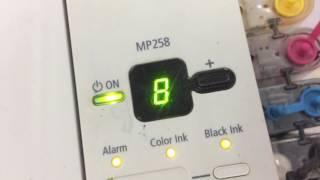 Canon MP258 Error E08