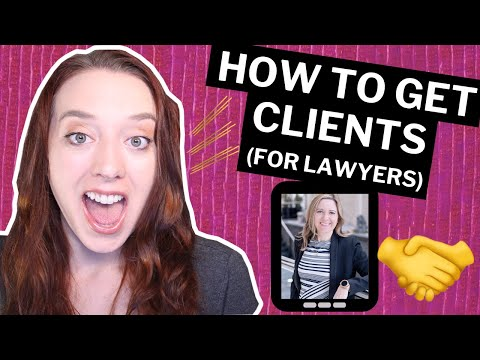 How to Get Legal Clients