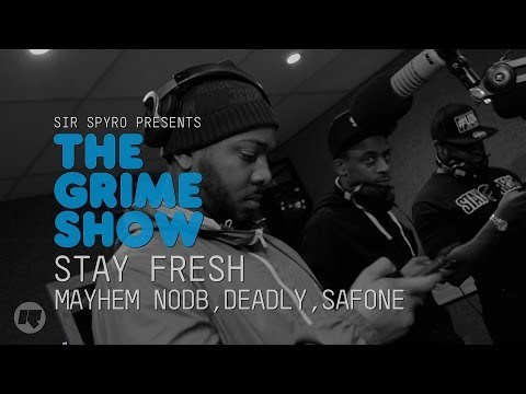 Video The Grime Show: Deadly, Safone & Mayhem NODB  - CameramanSketch, Cameraman, Sketch, Grime, Urban, Videos, Latest, UK, Hits, Pmoney, Skepta, Wiley, London to Nottingham, Nottingham, London