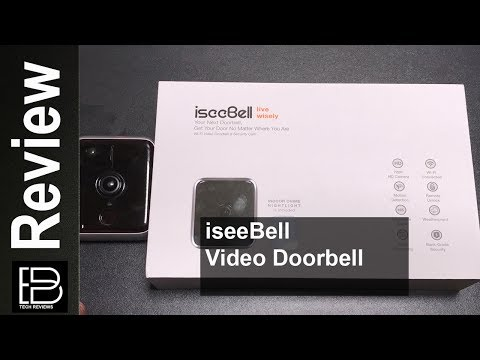 iseeBell Wi-Fi Enabled HD Video Doorbell Review