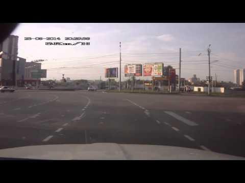 Авария с Мотоциклистом в Челябинске