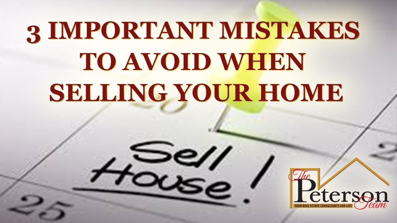 Avoid These Mistakes When You Sell for the First Time