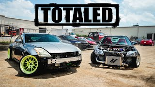 My Twin-Turbo Civic and LS3 350Z are TOTALED by Evan Shanks