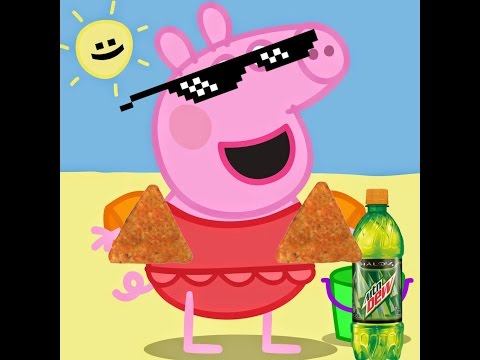 Video MLG peppa pig goes to the beach download in MP3, 3GP, MP4, WEBM, AVI, FLV January 2017