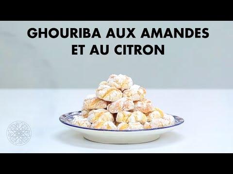 Choumicha: Ghriba aux amandes et au citron