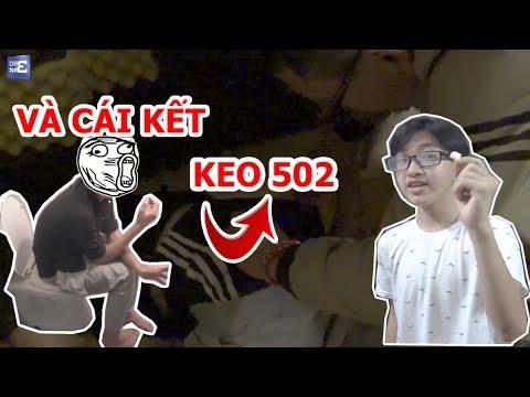 ĐỔ KEO 502 Vào Mông Bạn Và...!