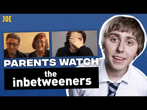 Watching The Inbetweeners with your parents | Awkward cringe moments!