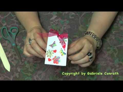 Geschenktüte aus Briefumschlag