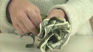 How to Make Money Roses, Craft, The Classy Cheapskate