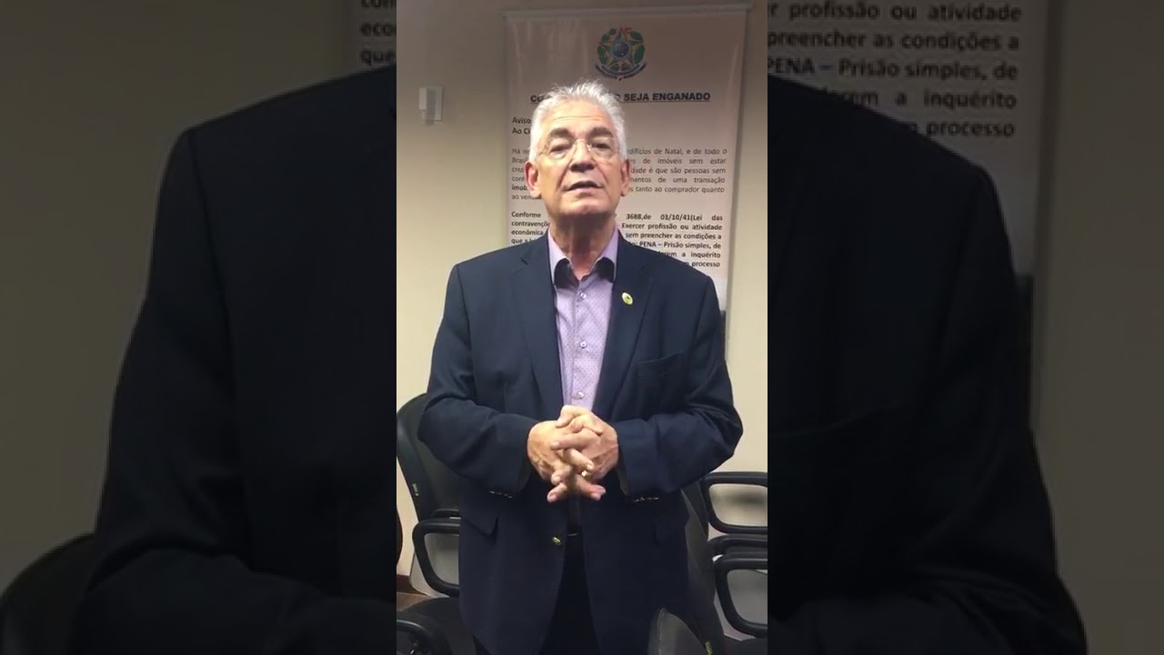 Presidente do CRECI-RN fala sobre Projeto de Lei