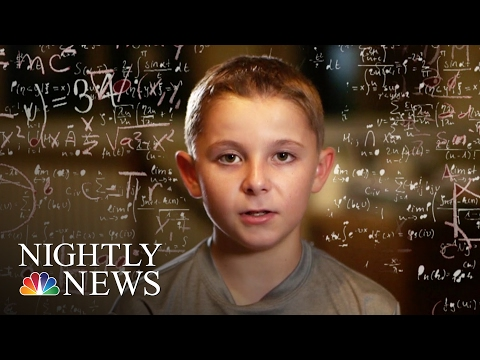 Inside The Mind Of Jaxon Cota An 11-Year-Old Kid Genius | NBC Nightly News