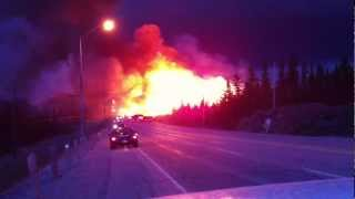 Timmins (ON) Canada  city images : Rae Hill Fire Timmins/ South Porcupine Ontario, Canada