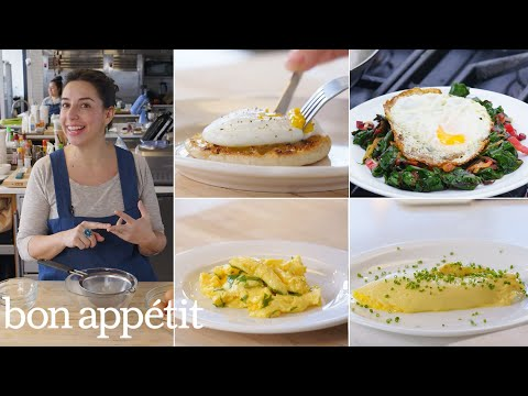 Carla Makes Eggs Four Ways: Poached, Fried, Scrambled & Omelette'd | From the Test Kitchen